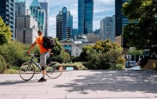 Bike the Night in Vancouver