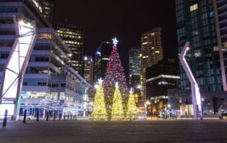 Christmas Market Vancouver downtown
