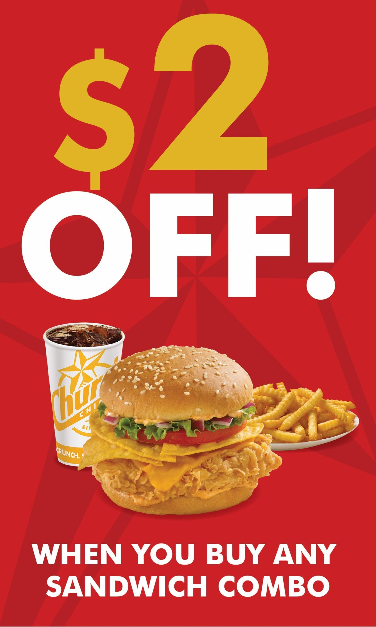 Church's Chicken British Columbia Coupons