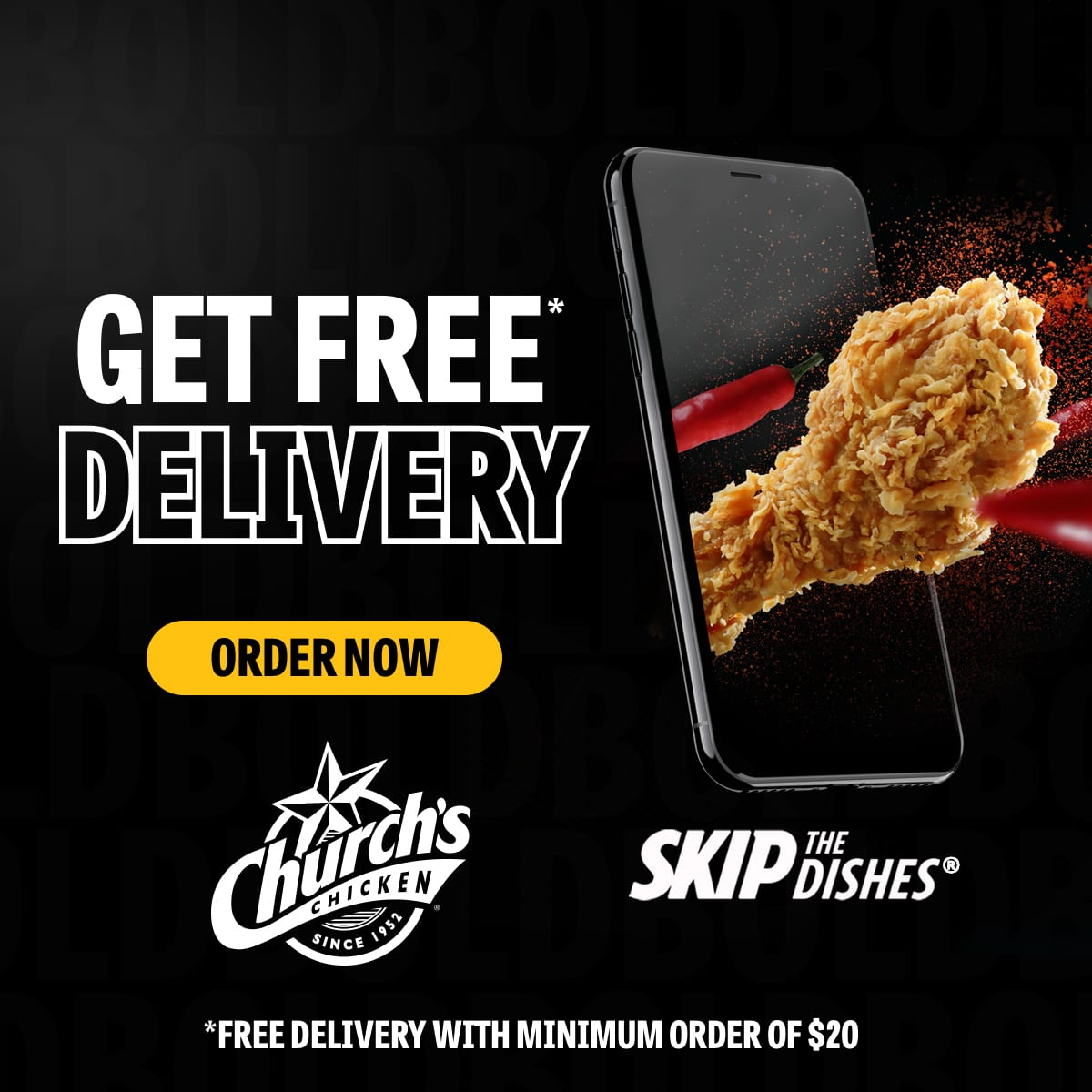Church's Chicken Vancouver Free Delivery